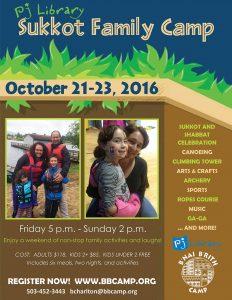 sukkot family camp 2016